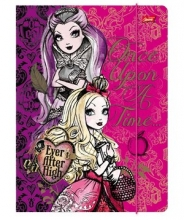 Teczka A4 z gumką Ever After High - mix wzorów