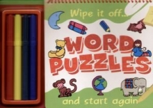 Wipe it off... Word puzzles