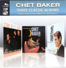 Three Classic Albums vol.2 - Stan Meets Chet & It Could Happen To You & Chet Baker In New York (2CD Remastered) (Slipcase) (*)
