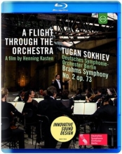 A Flight Through The Orchestra - Brahms: Symphony No 2 In D Major, Old Power Station Kraftwerk Rummelsburg, Berlin (Blue-ray)