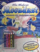 Alice Blueberry's moondust. Memaid foil colouring book