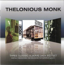 Three Classic Albums - Misterioso & 5 By Monk By 5 & Alone In San Francisco (2CD Remastered) (Slipcase) (*)