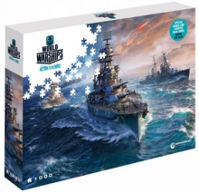 Puzzle World of Warships 1000 el. Gotowi do walki