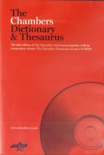 The Chambers Dictionary & Thesaurus CD