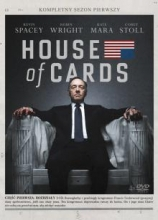 House of Cards. Sezon 1 (4 DVD)