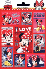 Nalepki Funny Stickers Myszka Minnie
