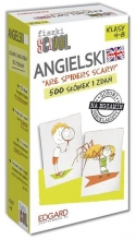 Angielski. Fiszki SCHOOL. Are spiders scary? (500 fiszek)