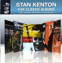 Five Classic Albums - City Of Glass & The Modern World & Contempory Concepts & Kenton In Hi Fi & Cuban Fire (Slipcase) (Remastered) (*)
