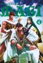 Magi: Labyrinth of Magic. Tom 4