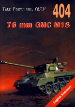 "76 mm GMC M18. Tank Power vol. CXLV 404 ""Hell Cat"""