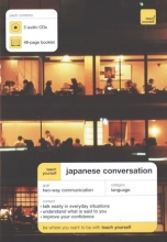 Japanese conversation. 3 CD and booklet