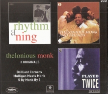 3 Originals - Brilliant Corners & Mulligan Meets Monk & 5 By Monk By 5 (2CD Remastered) (Digipack) (*)