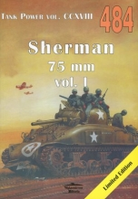 Sherman 75 mm vol. I. Tank Power vol. CCXVIII 484