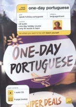 One-Day Portuguese. CD and booklet