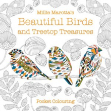 Millie Marotta's Beautiful Birds and Treetop Treasures Pocket Colouring